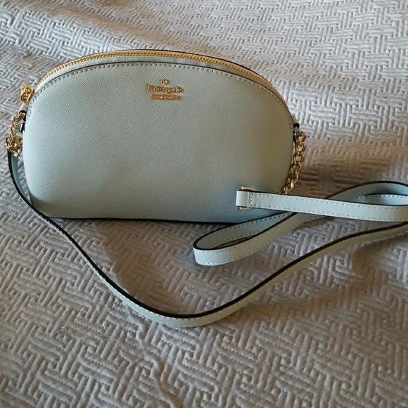 f035b2c57 kate spade Bags | Cameron Street Hilli Baby Blue Leather | Poshmark